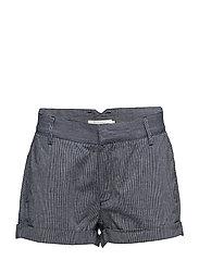 Mini stripe shorts - INDIGO