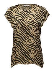 Zebra blouse - DORIAN ARMY