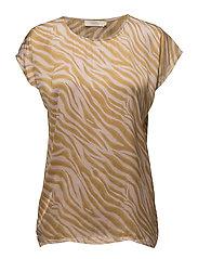 Zebra blouse - ROSE