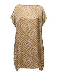 Zebra scarf dress - ROSE