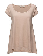 Soft touch a-line t-shirt - CAMEO ROSE