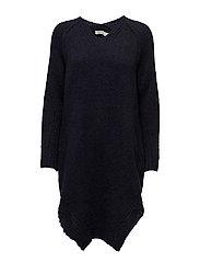 Linked tunic dress - NAVY