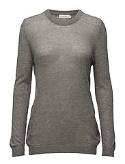 Melange sweater - CHARCOAL