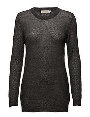 Melange sweater - LIGHT GREY