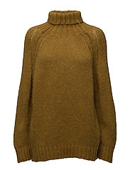 Eclectic rollneck sweater - DIJON