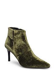 Rabens Saloner - Velvet High Heel Boot