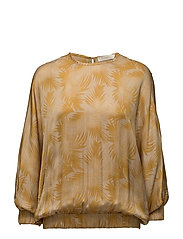 Palm blouse - GOLD