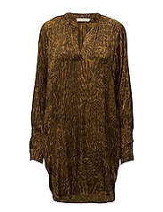 Wild cat kaftan - GOLD