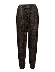 Wild cat pants - SLATE BLACK
