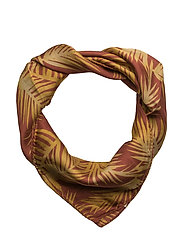Palm head scarf - PAPRIKA