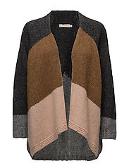 Deco knit cardigan - DESERT BLOCK