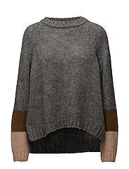 Rabens Saloner - Deco Knit Oversized Sweater