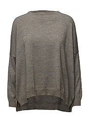 Rabens Saloner - Gold Block Oversized Sweater