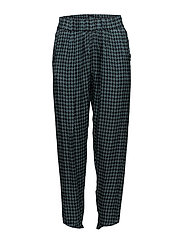 Rabens Saloner - Houndstooth Cropped Pant