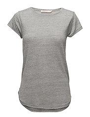Marl T-shirt - GREY MARL
