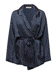 Dot jacket - NAVY