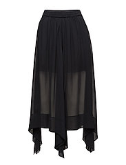 Solid skirt - FADED BLACK