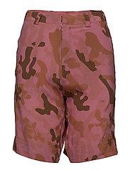 Camouflage shorts - ROUGE