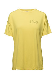 Solid T-shirt - YELLOW