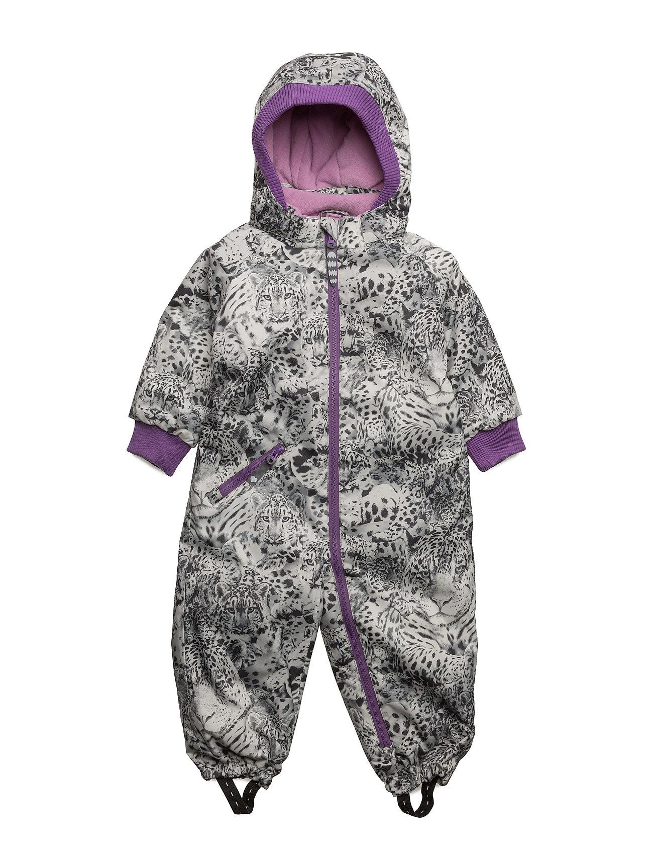 Liva Leopard Suit Racoon Outdoor Overalls til Børn i