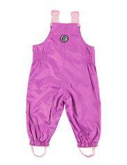 Racoon Outdoor baby girl overalls
