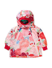 BERGLIOT FLOWERBIRD BABY JACKET - Crystal rose