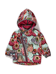 FATOU SOFTSHELL BABY JACKET - Red violet