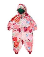 BERNADETTE FLOWERBIRD BABY WHOLESUIT - Crystal rose