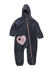HELLE TEDDY FLEECE SUIT - GRISAILLE