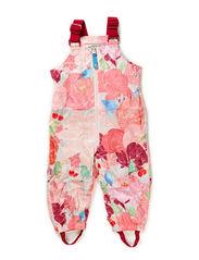 BERTA FLOWERBIRD BABY OVERALLS - Crystal rose