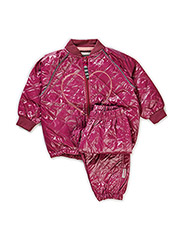 LAIKA THERMO BABY SET - Red violet