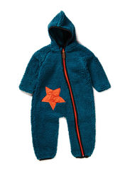 ELI TEDDY BABY SUIT - Harbor blue