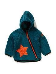 EJNER TEDDY BABY JACKET - Harvard blue
