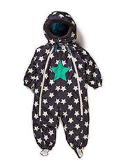 SKJOLD STAR BABY SUIT - Ebony