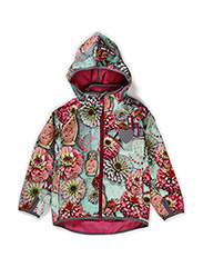 FIONA SOFTSHELL GIRL JACKET - Red violet