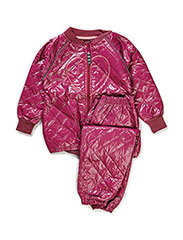 LAURA THERMO GIRL SET - Red violet