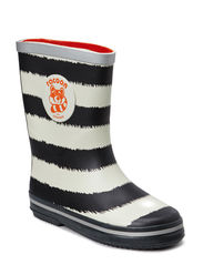 HEKLA RAIN BOOTS - Pirate black