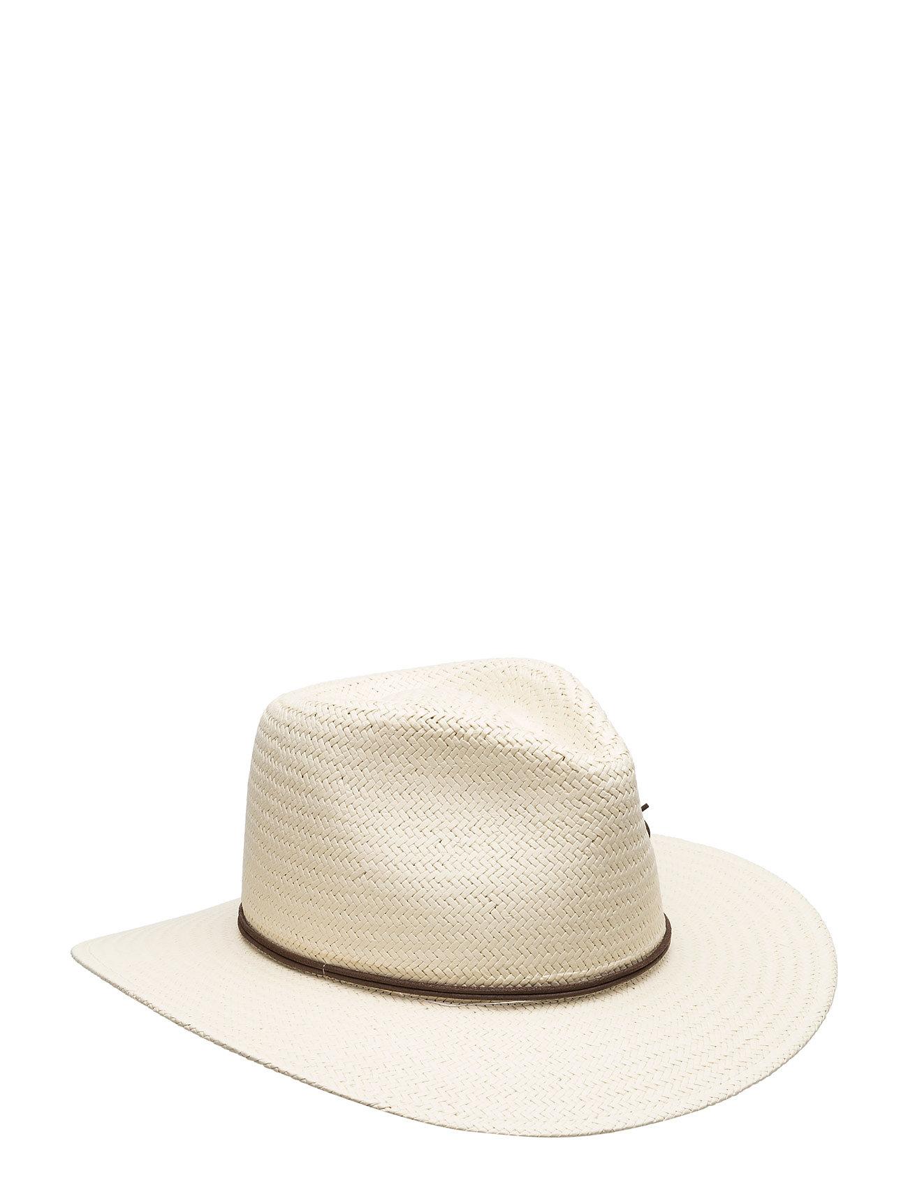 Packable Straw Fedora rag & bone Hatte & Caps til Damer i Naturlig