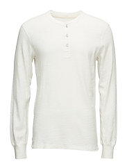 CLASSIC HENLEY - WHITE