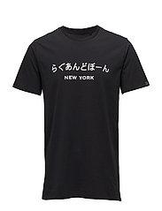 RB NY JAPAN TEE - BLACK