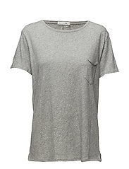 X-BOYFRIEND TEE - HEATHER GREY