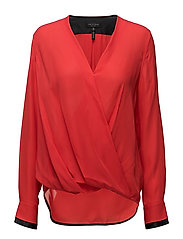 VICTOR BLOUSE - ROYAL RED