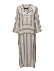 PACIFICO TUNIC DRESS - OFF WHITE STRIPE