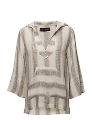 LOS CABOS TUNIC - OFF WHITE STRIPE