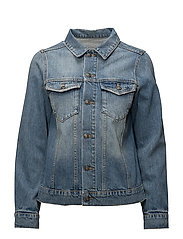 ARCADIA DENIM JACKET - BLUE