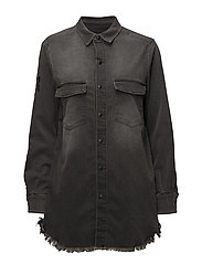 YONAH SHIRT - DARK GREY