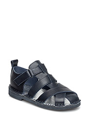 Sandal Leather - NAVY