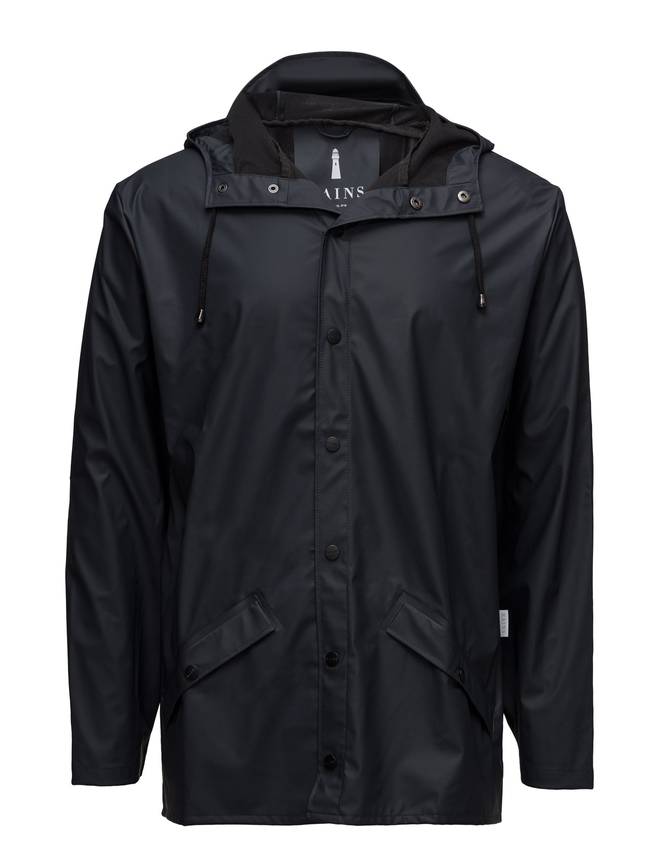 Jacket fra rains på boozt.com dk