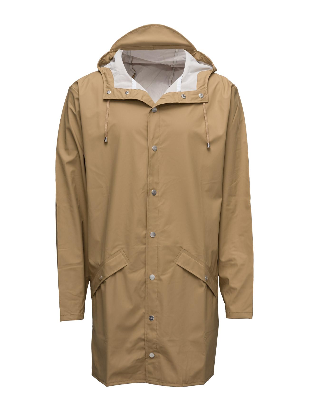 Long Jacket Rains Regntøj til Herrer i 17 Wax Gul