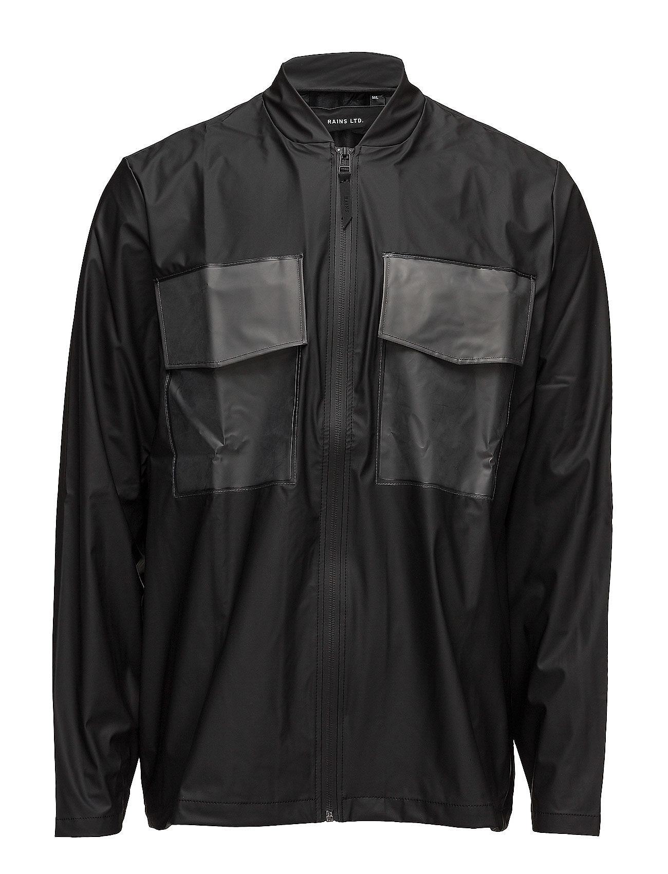 Warrant jacket fra rains på boozt.com dk
